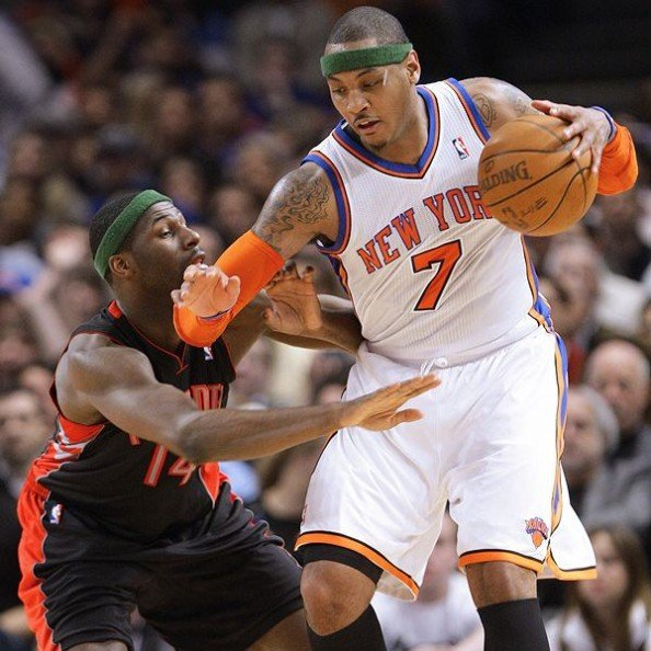 Carmelo Anthony1 e1351602230407 10 Highest Paid Players in the NBA
