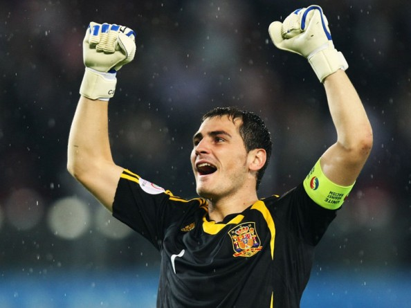 Iker Casillas e1350400136230 Most Capped Players for the Top 20 National Teams