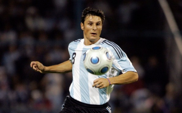 Javier Zanetti e1350396337713 Most Capped Players for the Top 20 National Teams