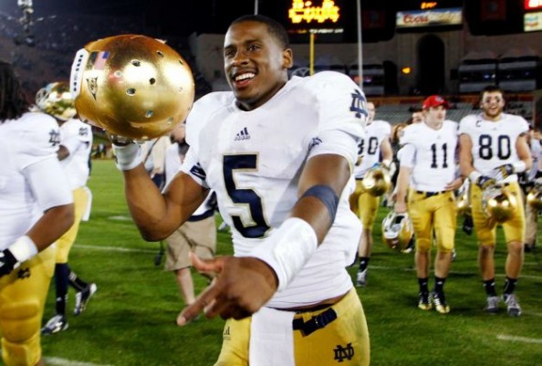 Golson e1353843255688 Notre Dame Fighting Irish   Defense Shines in Perfect Season