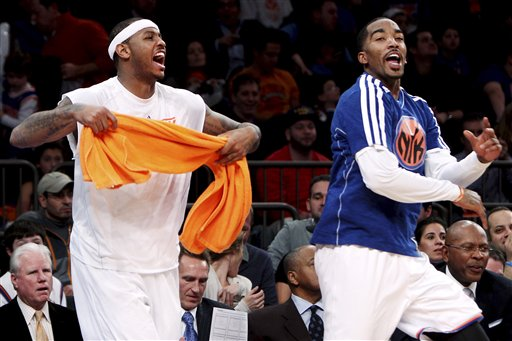 Happy Knicks New York Knicks   Carmelo Anthony for MVP
