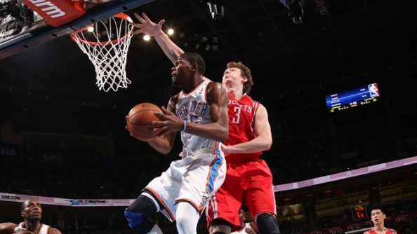 Kevin Durant2 e1354190802234 Oklahoma City Thunder   Kevin Durant Ruins the James Harden Return