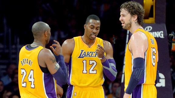 Lakers Big Three Los Angeles Lakers   Kobe Bryant Cant Change