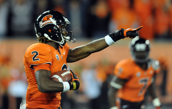 Markus Wheaton 2012 College Football Season   Week 13 Predictions