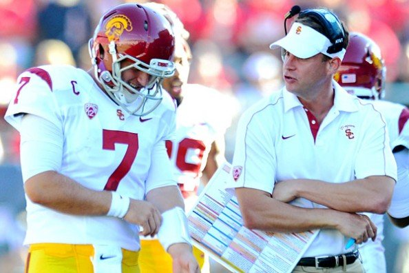 Matt Barkley e1352117669441 USC Trojans   Preseason Number One Means Youll Lose Three Times