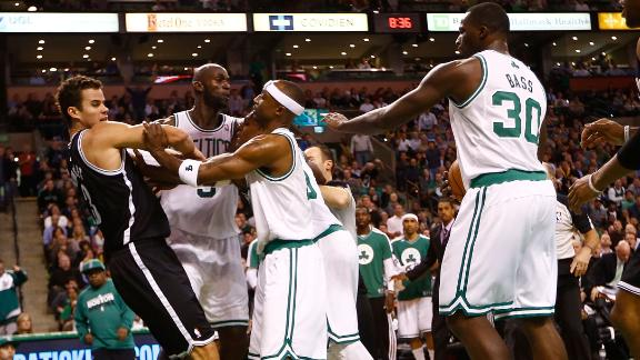 Nets vs Celtics Brawl Brooklyn Nets   Tougher, Better Than the Boston Celtics