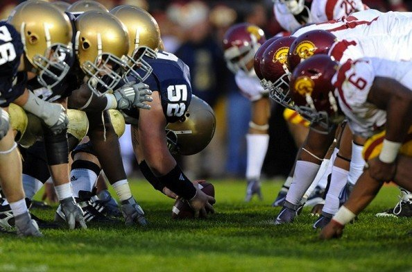 Notre Dame vs USC 2012 e1353748402331 2012 College Football Season   Week 13 Predictions