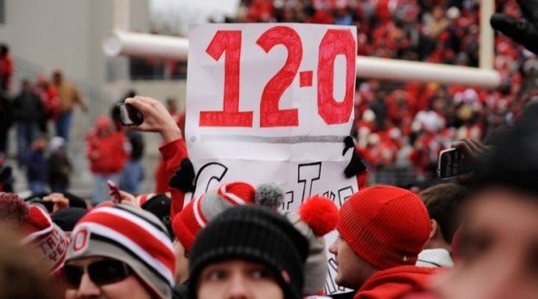 Ohio State 12 0 e1353930381625 Ohio State Buckeyes   Undefeated Doesnt Mean Champions
