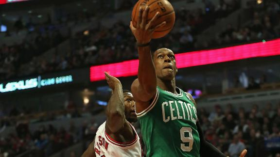 Rajon Rondo Boston Celtics   Rajon Rondo Still Learning to be More Selfish
