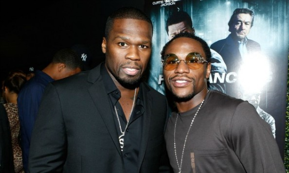 50 Cent Mayweather e1354352121560 Floyd Mayweather   What Went Wrong With 50 Cent