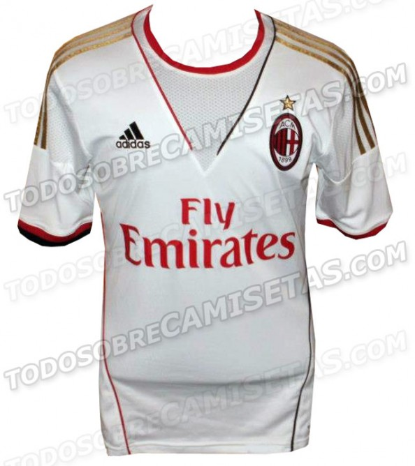 AC Milan Away Kit e1356080596748 Chelsea FC   The New 2013 2014 Kit