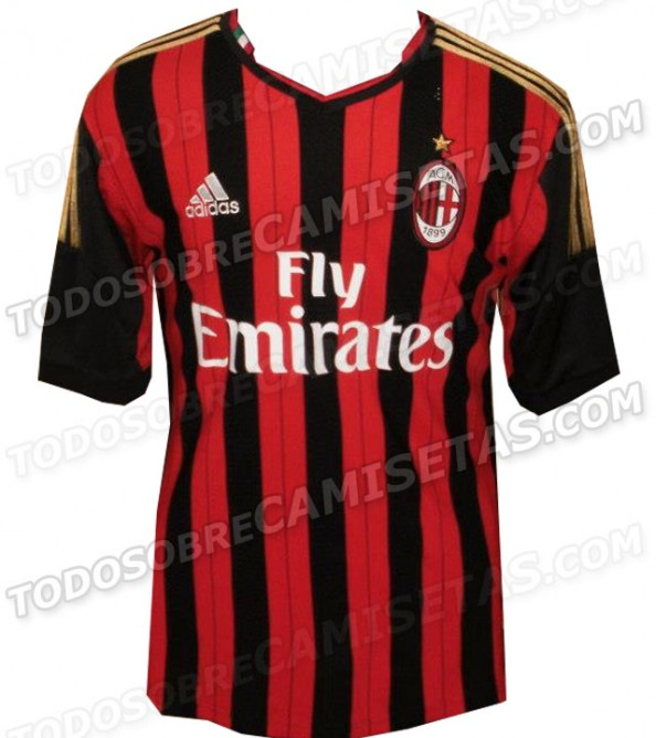 AC Milan Home Kit e1356080564468 Chelsea FC   The New 2013 2014 Kit