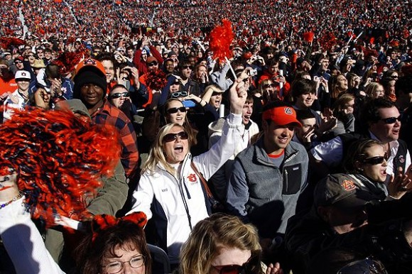 Auburn Tigers Fans e1355999191979 10 Most Valuable College Football Teams