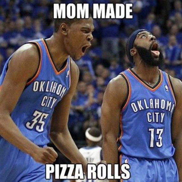 Durant Harden1 e1355328414723 Best Sports Memes of 2012