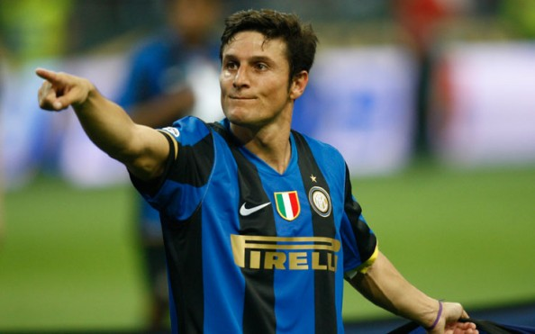 Javier Zanetti e1355388587811 Great European Clubs Most Capped Players