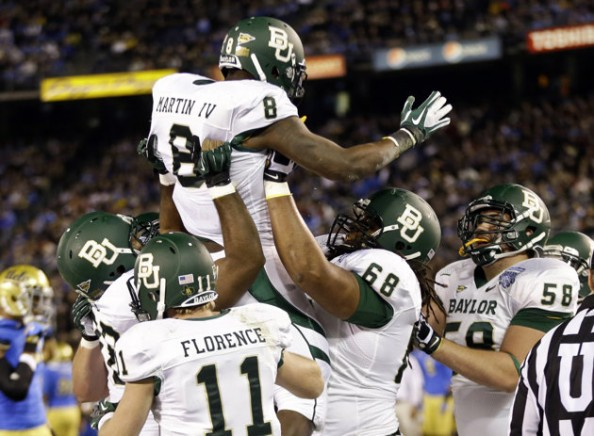 Martin e1356694166493 Baylor Bears   Nick Florence Makes the Most of His Chance