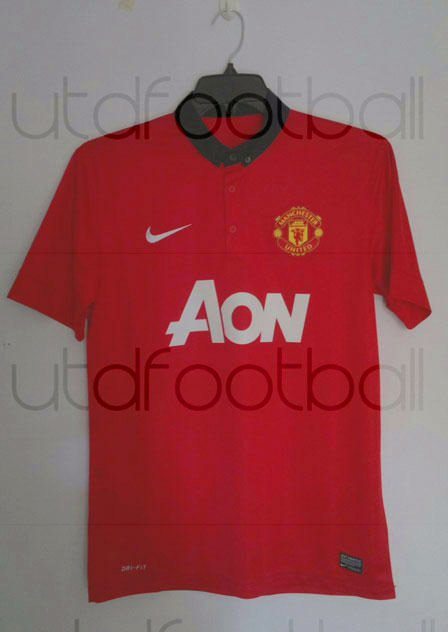 New Manchester United Shirt Manchester United   The New 2013 2014 Kit