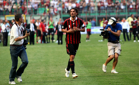 Paolo Maldini Great European Clubs Most Capped Players