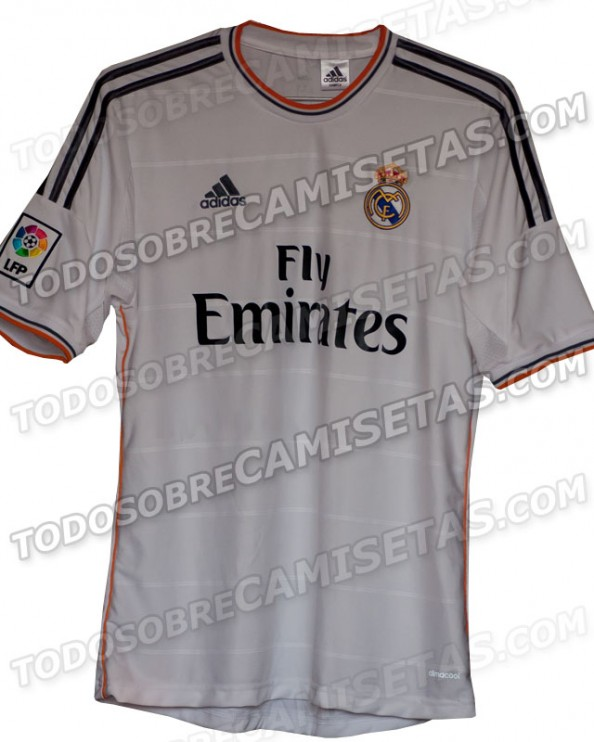 Real Madrid Kit e1355928661462 Real Madrid   The New 2013 2014 Kit
