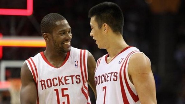 Rockets Beat Jazz e1354453718922 Houston Rockets   Jeremy Lin Shows Hes Here Too