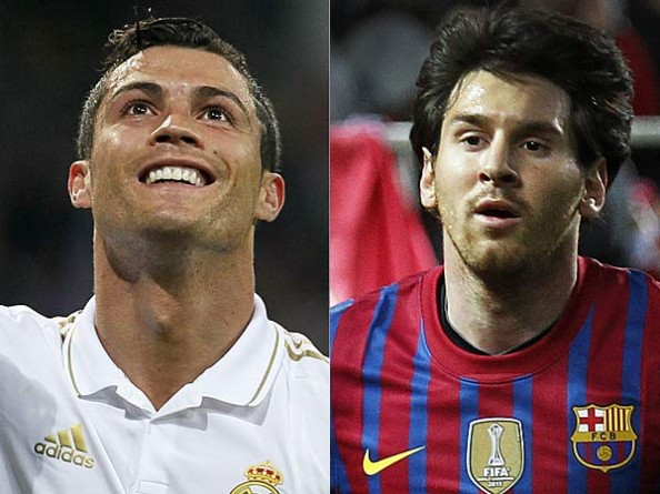 Ronaldo or Messi e1355355393156 Messi vs Ronaldo   Until One of Them Starts Slowing Down