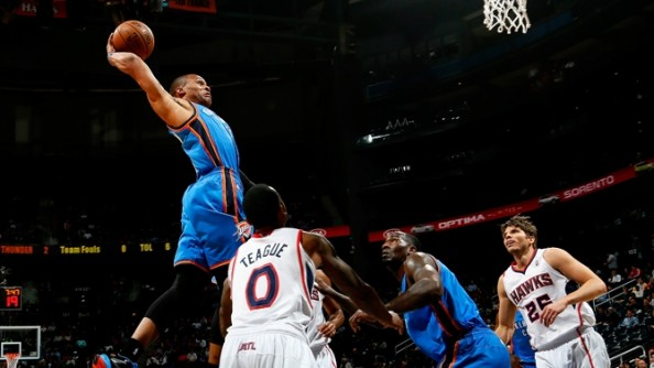 Russell Westbrook1 e1356008819482 Oklahoma City Thunder   The Unstoppable Kevin Durant