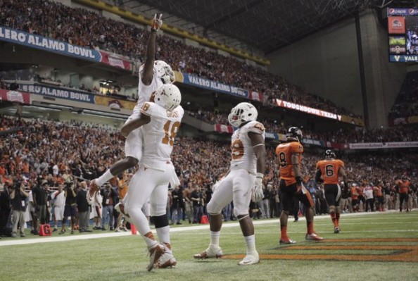 Texas Touchdown e1356867195753 Texas Longhorns   David Ash Erases Past Mistakes