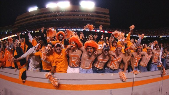 Vols Fans e1355998955269 10 Most Valuable College Football Teams