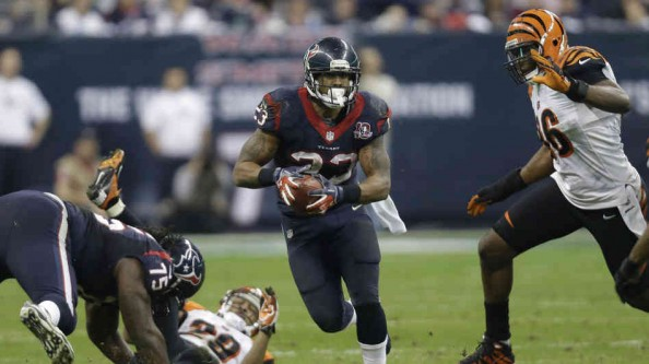 Arian Foster e1357471566541 Houston Texans   Arian Foster Back on Track