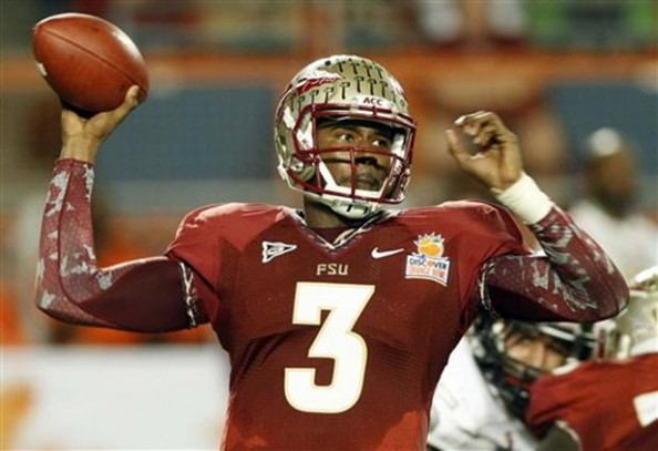 EJ Manuel e1357129091135 Florida State Seminoles   EJ Manuel & Lonnie Pryor Enjoy Final Game