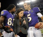 Joe Flacco and Torrey Smith