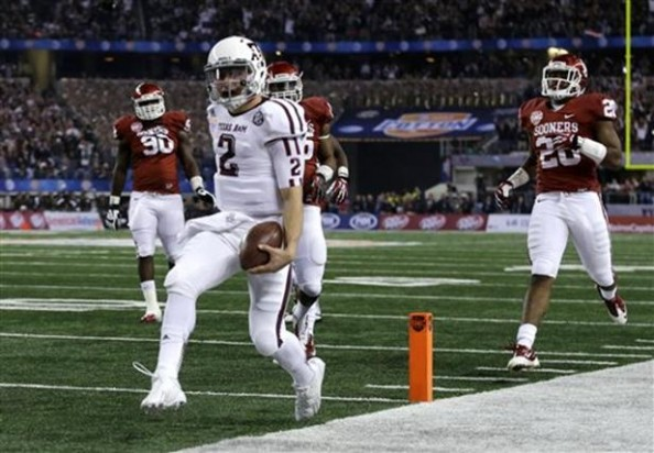 Johnny Manziel e1357375487704 Texas A&M Aggies   Johnny Manziel Too Good for Words