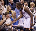 Kevin Durant & Fans