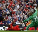 Lukas Podolski vs Liverpool
