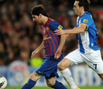 Messi vs Espnayol
