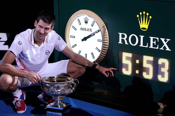 Novak Djokovic Novak Djokovic   The Favorite Going into the Australian Open