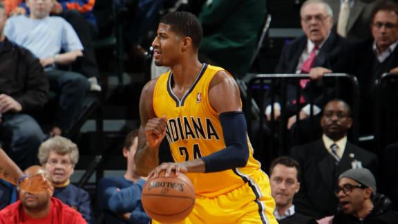 Paul George Pacers Indiana Pacers   The Best Defense in the NBA