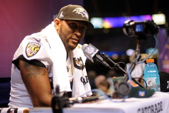 Ray Lewis Baltimore Ravens   Another Ray Lewis Question Mark