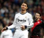 Cristiano Ronaldo in the rain