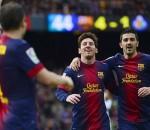 Lionel Messi & David Villa