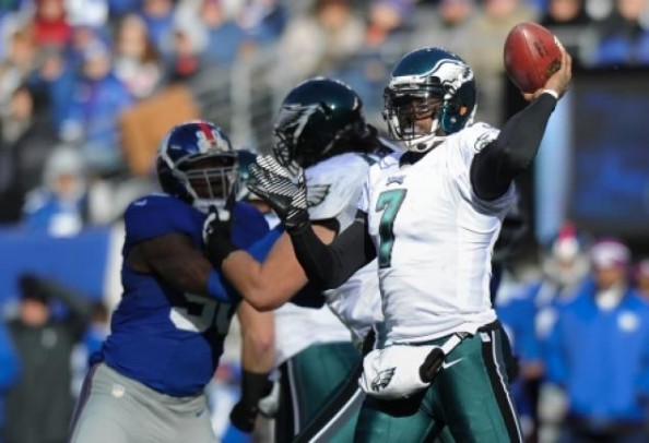 Michael Vick Eagles e1360674957119 NFL Rumors   Philadelphia Eagles Sticking With Michael Vick Influences Others