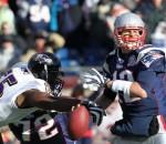 Suggs tackling Brady