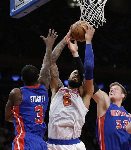 Tyson Chandler Rebound New York Knicks   Tyson Chandler With a Special Rebounding Streak