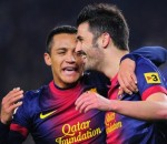 David Villa, Alexis Sanchez