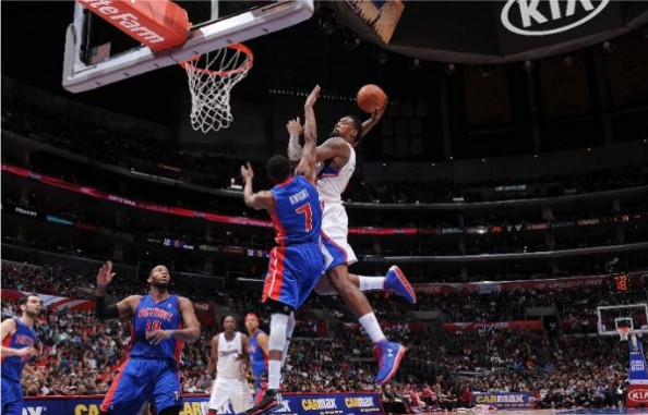 DeAndre Jordan Dunk on Brandon Knight e1363012539913 NBA Players With the Most Dunks in 2012 2013 Season