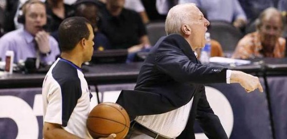 Gregg Popovich e1363787070517 Are the San Antonio Spurs the Luckiest Team in the NBA