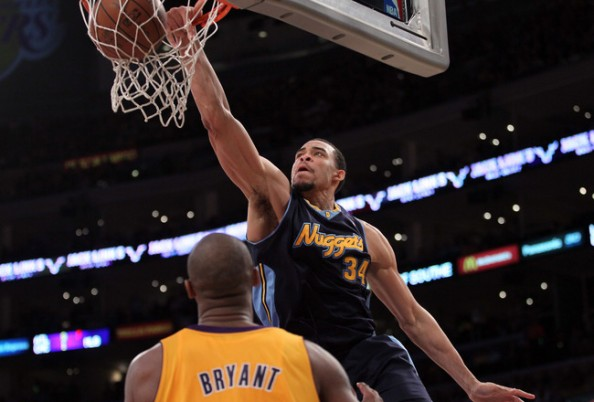 JaVale McGee Dunk e1363012749250 NBA Players With the Most Dunks in 2012 2013 Season