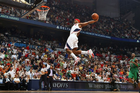 Josh Smith e1363011200622 NBA Players With the Most Dunks in 2012 2013 Season