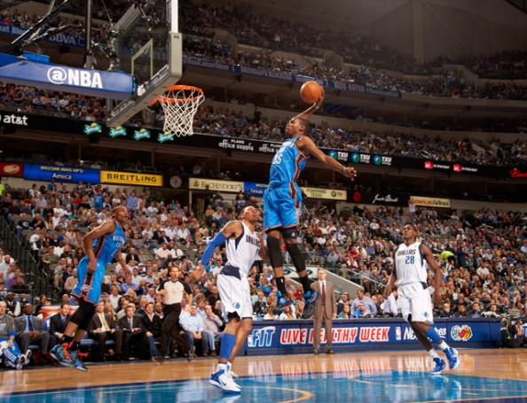 Kevin Durant Dunk e1363011342597 NBA Players With the Most Dunks in 2012 2013 Season