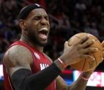 LeBron James Angry